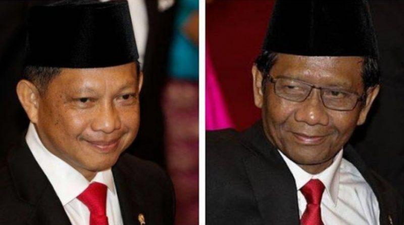 Jenderal Tito dan Mahfud Sepakat Tak Perpanjang Izin FPI
